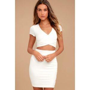 Two-piece skirt set / dress from Lulu's 👗